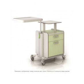 Тумбочка прикроватная с подъемно-поворотным столиком Конмет Холдинг Сн-300.00.04