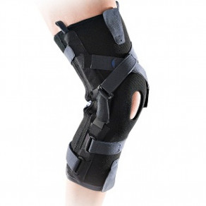 Жёсткий двухосевый лигаментарный коленный ортез с усилителями Thuasne Ligaflex® EVOLUTION 2375
