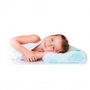 Подушка Trelax с эффектом памяти для детей старше 3-х лет Respecta Baby П35
