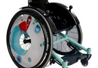 Инвалидное кресло в специальном цвете