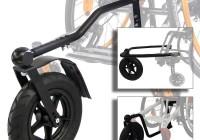 Дополнительное колеса для неровных дорог