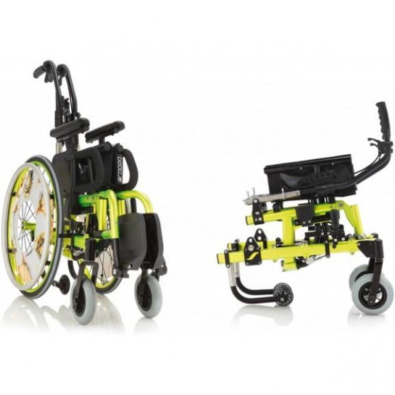 Кресло-коляска с ручным приводом активного типа Progeo Tekna Tilt Junior - фото №4