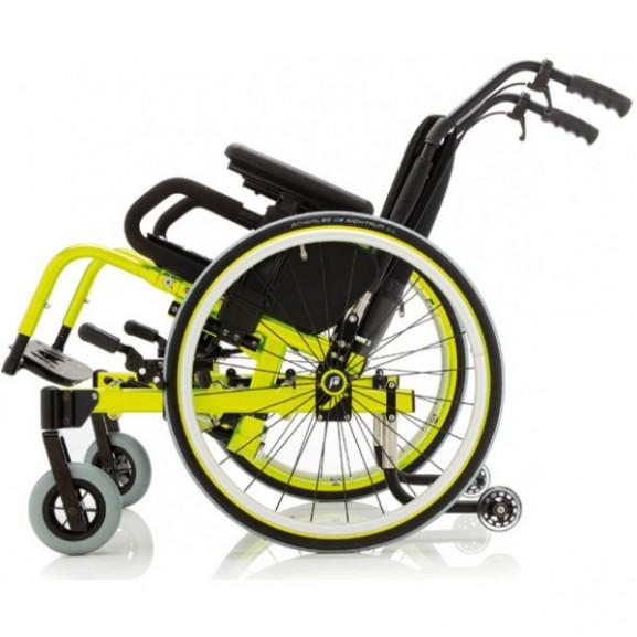Кресло-коляска с ручным приводом активного типа Progeo Tekna Tilt Junior - фото №2