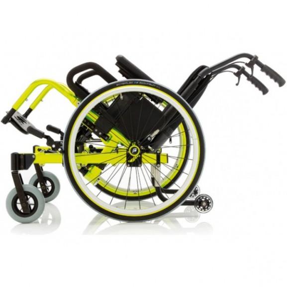 Кресло-коляска с ручным приводом активного типа Progeo Tekna Tilt Junior - фото №3