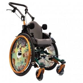 Детское кресло-коляска активного типа Sorg Mio Carbon (Модель 2018 года)