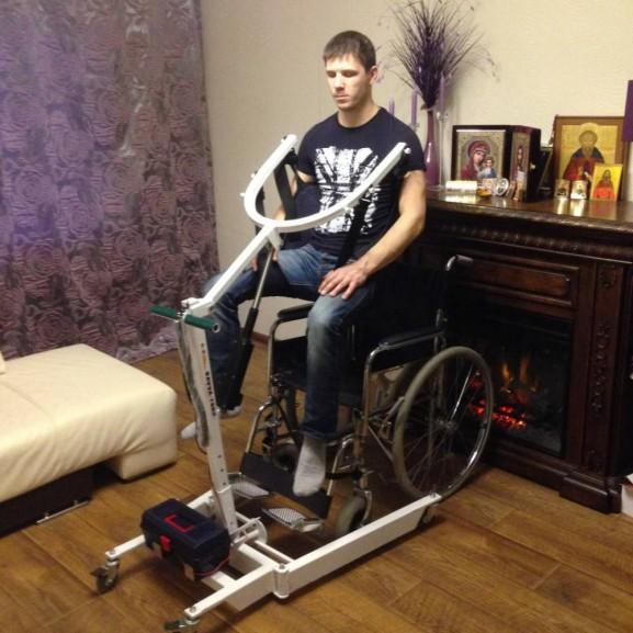 Передвижной подъёмник для колясочников и больных O-Savva TPS-2 - фото №1