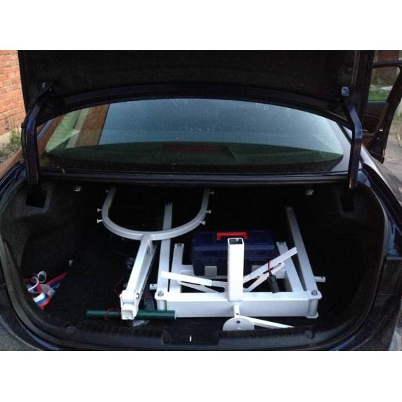 Передвижной подъёмник для колясочников и больных O-Savva TPS-2 - фото №7