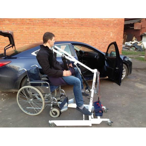 Передвижной подъёмник для колясочников и больных O-Savva TPS-2 - фото №6