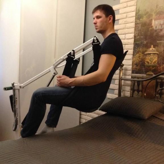 Передвижной подъёмник для колясочников и больных O-Savva TPS-2 - фото №10