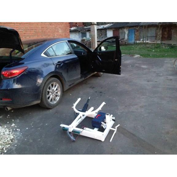 Передвижной подъёмник для колясочников и больных O-Savva TPS-2 - фото №8