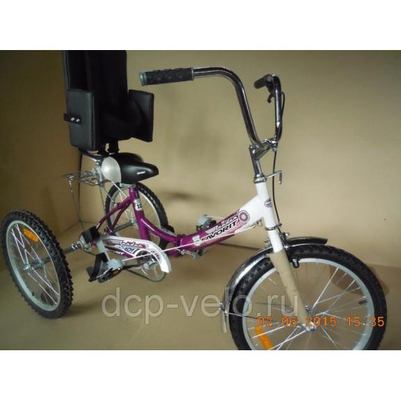 Специализированная спинка для велосипеда ВелоЛидер 001 - фото №4