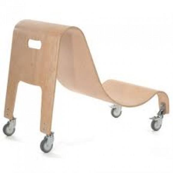 Кресло Special Tomato Sitter c деревянной мобильной базой - фото №1