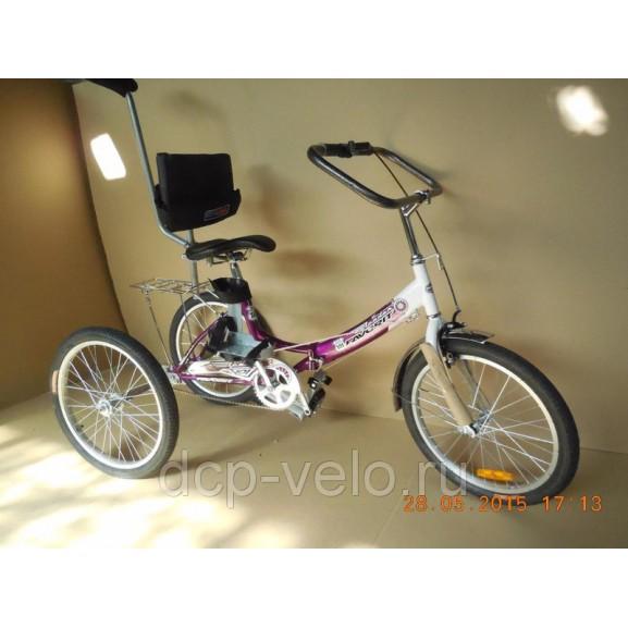 Овальный руль для велосипеда ВелоЛидер 003