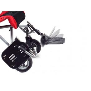 Опоры для стопы регулируемые по углу наклона для коляски Convaid Cruiser