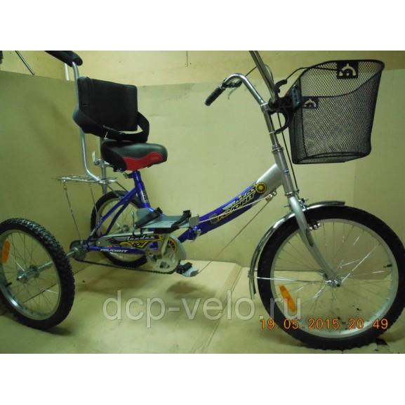 Корзинка для велосипеда ВелоЛидер 004