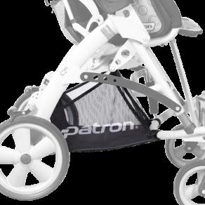 Корзина до 3 кг грузоподъемность для колясок Tom 5 Fscw Patron Rprk02108