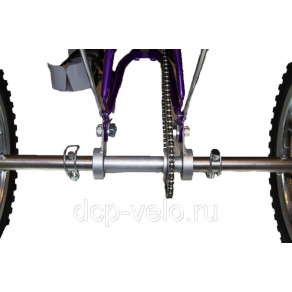 Задняя ось (в сборе) ВелоЛидер