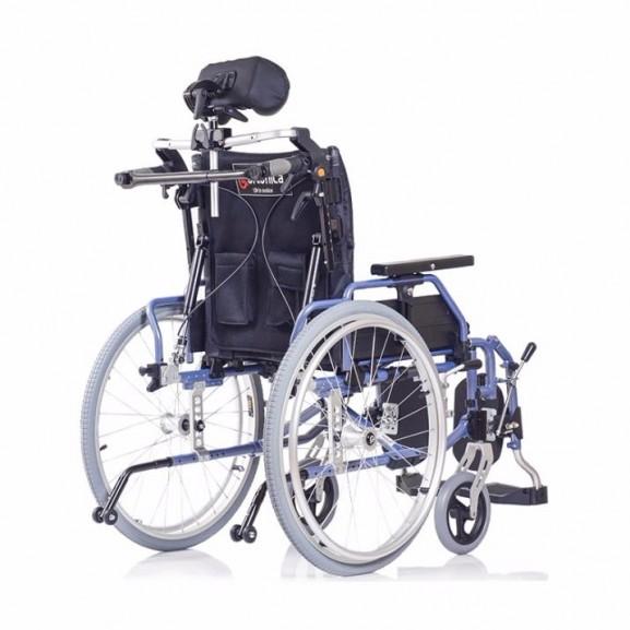 Комфортное инвалидное кресло-коляска Ortonica Trend 15 - фото №1