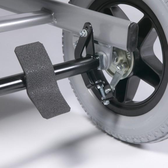 Кресло-коляска механическая многофункциональная Vermeiren Coraille Xxl - фото №3