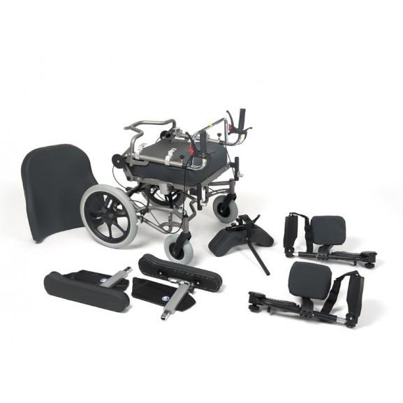 Кресло-коляска механическая с приводом от обода колеса многофункциональная Vermeiren Inovys II - фото №7