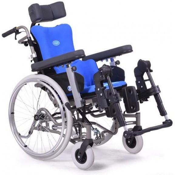 Кресло-коляска механическая с приводом от обода колеса многофункциональная Vermeiren Inovys II - фото №3