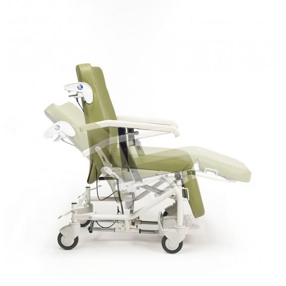 Кресло-коляска многофункциональная на колесах Vermeiren Alesia - фото №6