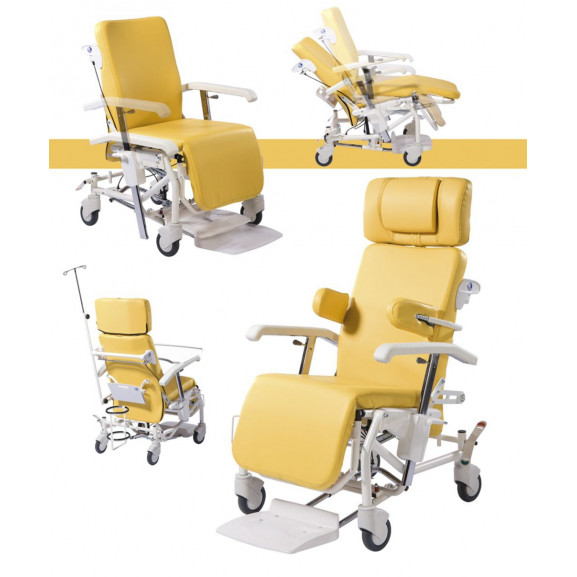 Кресло-коляска многофункциональная на колесах Vermeiren Alesia - фото №5