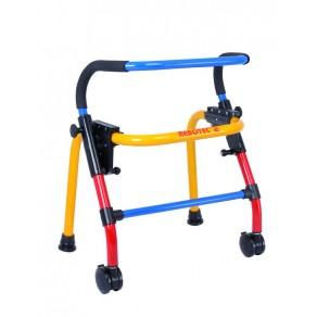 Ходунки складные детские четырехопорные Rebotec Вок-он на колесах (XS) 175.10