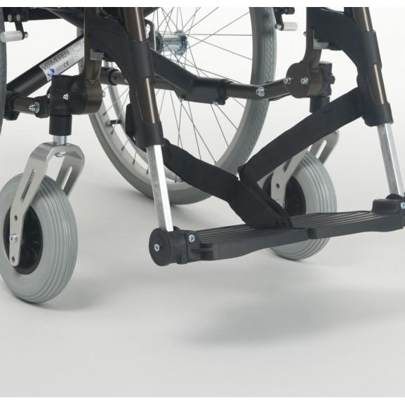 Кресло-коляска механическая с приводом от обода колеса многофункциональная Vermeiren V300 XL - фото №1