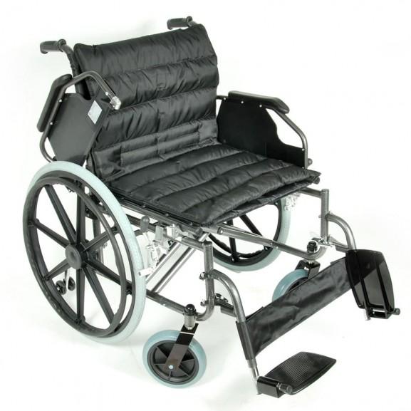 Комфортабельная инвалидная кресло-коляска Мега-Оптим Fs 951 B-56 - фото №9