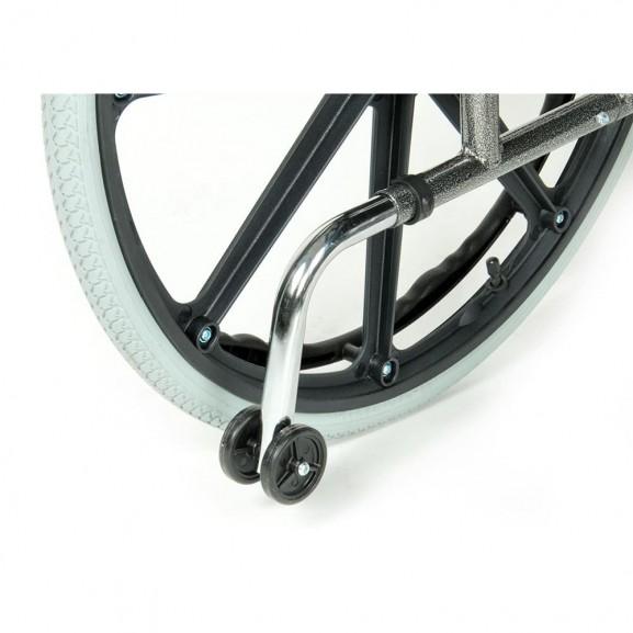 Комфортабельная инвалидная кресло-коляска Мега-Оптим Fs 951 B-56 - фото №10