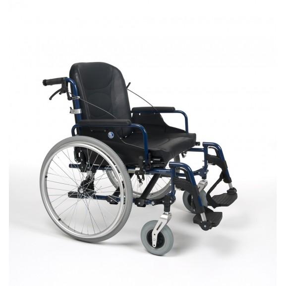 Кресло-коляска механическая с приводом от обода колеса многофункциональная Vermeiren V300 XL - фото №2
