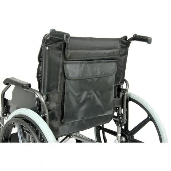 Комфортабельная инвалидная кресло-коляска Мега-Оптим Fs 951 B-56 - фото №11