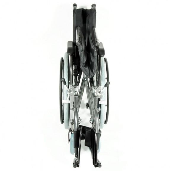 Комфортабельная инвалидная кресло-коляска Мега-Оптим Fs 951 B-56 - фото №16