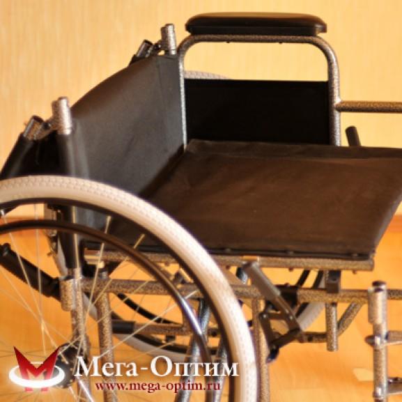 Инвалидная коляска стальная Мега-Оптим Fs 874 B-51 - фото №8