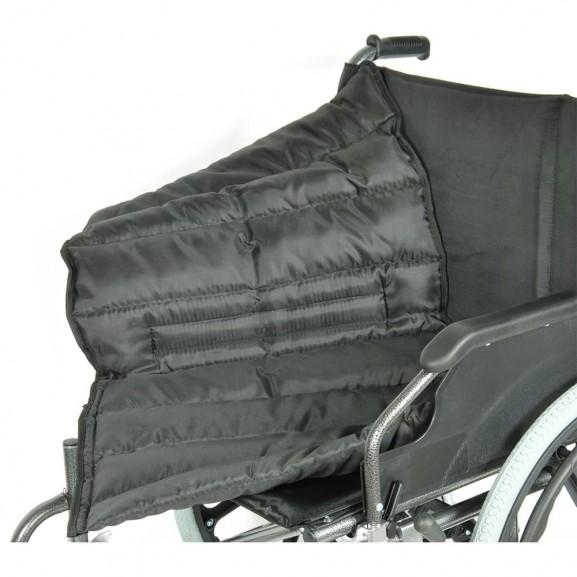 Комфортабельная инвалидная кресло-коляска Мега-Оптим Fs 951 B-56 - фото №15