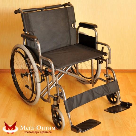 Инвалидная коляска стальная Мега-Оптим Fs 874 B-51