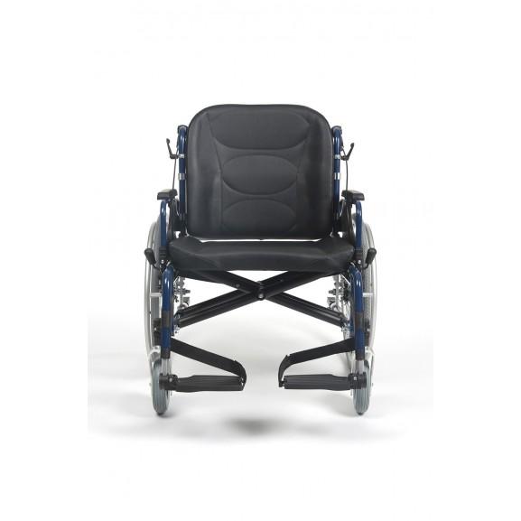 Кресло-коляска механическая с приводом от обода колеса многофункциональная Vermeiren V300 XL - фото №3