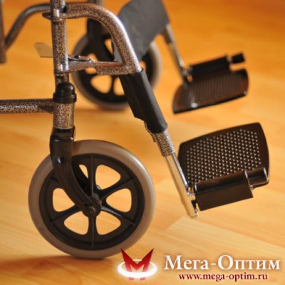Инвалидная коляска стальная Мега-Оптим Fs 874 B-51 - фото №1