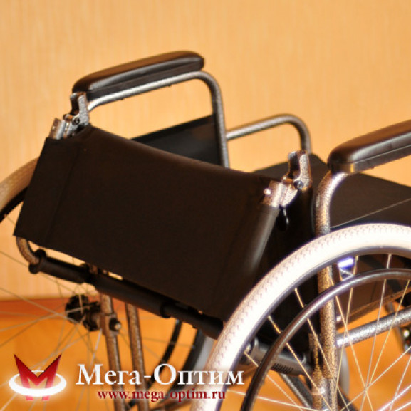 Инвалидная коляска стальная Мега-Оптим Fs 874 B-51 - фото №11