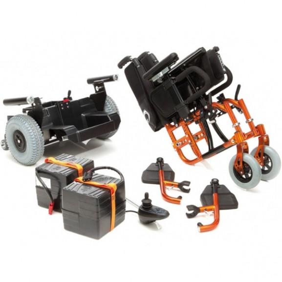 Кресло-коляска с электроприводом Progeo Variotronic - фото №4