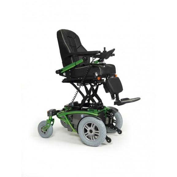 Кресло-коляска инвалидное с электроприводом Vermeiren Timix Lift - фото №2