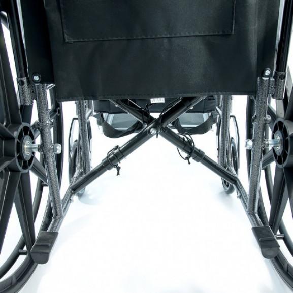 Инвалидная коляска регулируемая по ширине Мега-Оптим 511 А-51 - фото №1