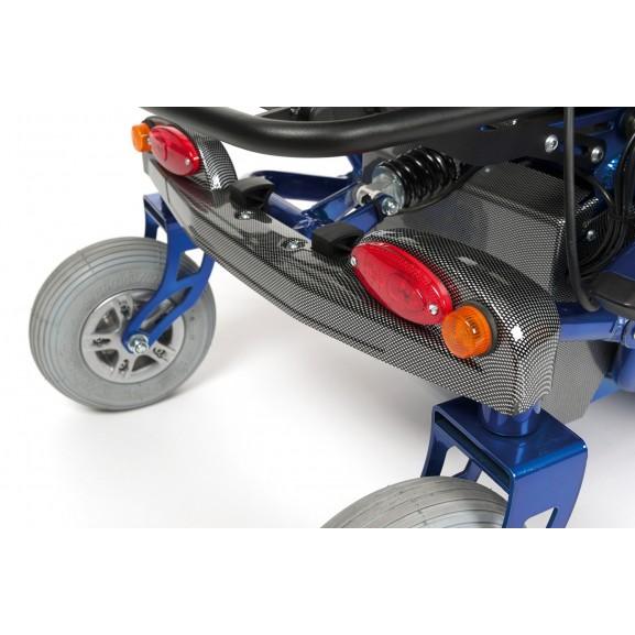 Кресло-коляска инвалидное с электроприводом Vermeiren Timix Lift - фото №3