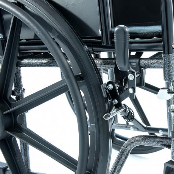 Инвалидная коляска регулируемая по ширине Мега-Оптим 511 А-51 - фото №3