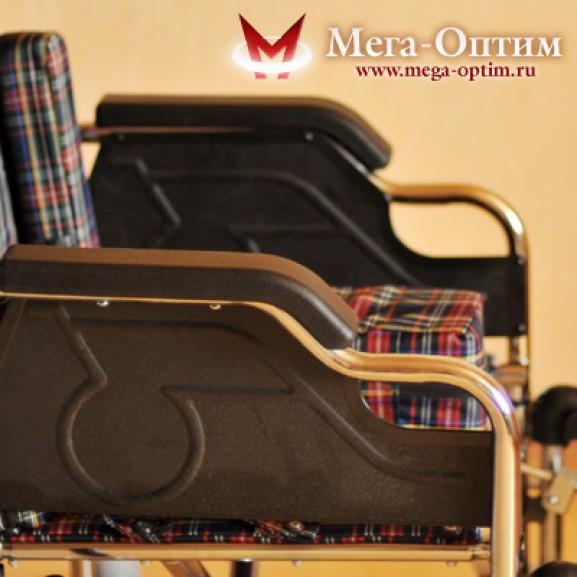 Детская инвалидная коляска для детей больных ДЦП Мега-Оптим Fs 203 bj - фото №18