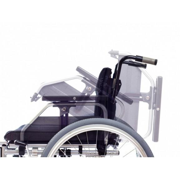 Инвалидное кресло со складной рамой Ortonica Trend 10 Xxl - фото №18