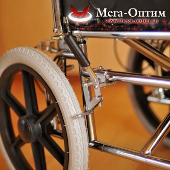 Детская инвалидная коляска для детей больных ДЦП Мега-Оптим Fs 203 bj - фото №17