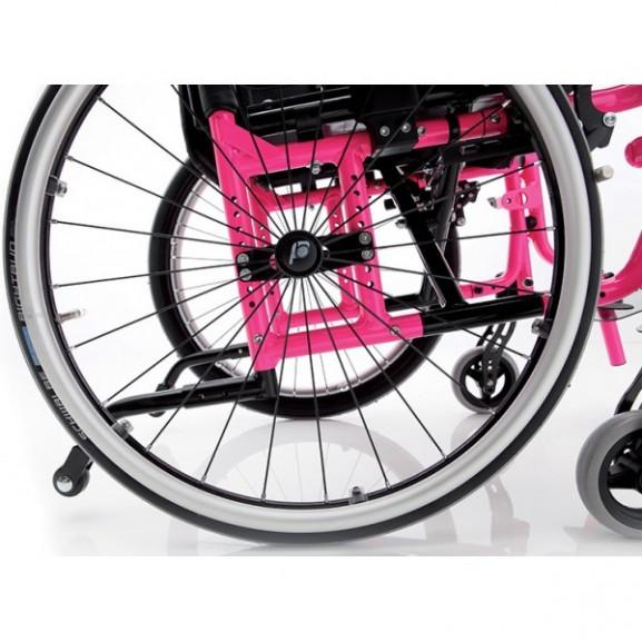 Кресло-коляска с ручным приводом активного типа Progeo Junior Light - фото №2