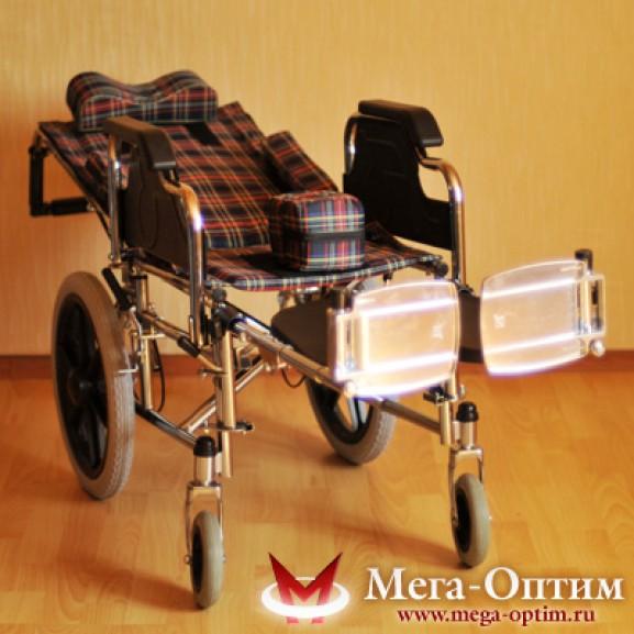 Детская инвалидная коляска для детей больных ДЦП Мега-Оптим Fs 203 bj - фото №10